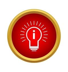 Idea Icon simple style vector image