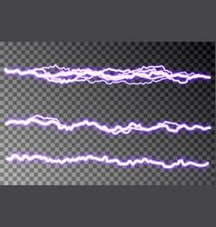 lightning blast on checkered background vector image