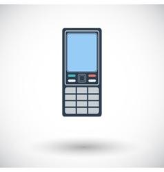 Phone single icon vector