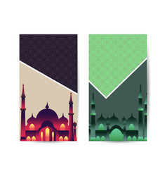 Ramadan kareem islamic art style background vector
