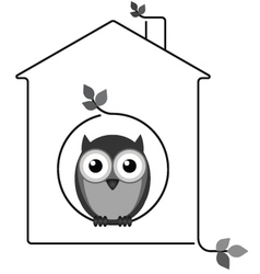 Twig House vector