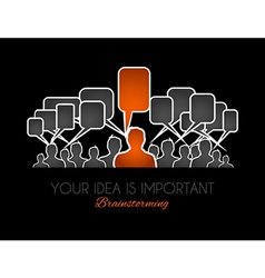 Worldwide communication and social media concept vector image
