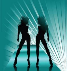 queen dance vector image