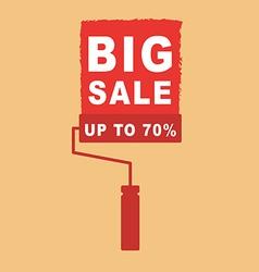 Sale tool vector image
