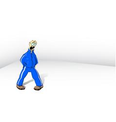 fool man vector image vector image