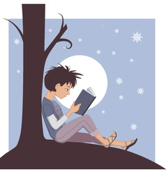 Joy of Reading vector image vector image