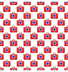 Medicine chest pattern vector image