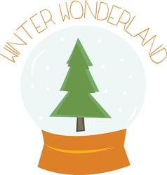 Winiter Wonderland vector image vector image