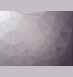 abstract triangular graphite gray background vector image