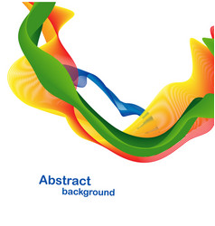 Colorful abstract design vector