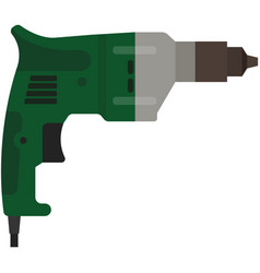 drill or jackhammer electric power tool vector image