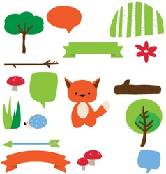 Forest Fellows vector image