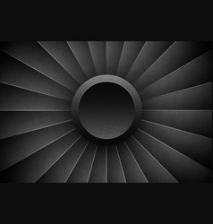 jet engine turbine horizontal background detailed vector image