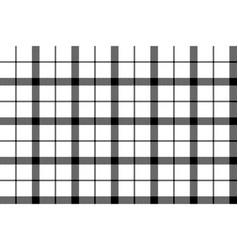 monochrome black white check pixel seamless vector image