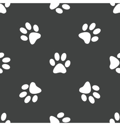 Paw pattern vector
