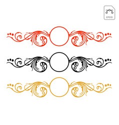 Tribal abstract decals wrap for vehicle vector