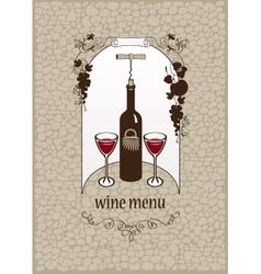 wine stone vector image