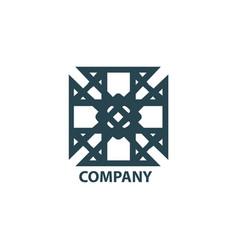 design geometric logo vector image