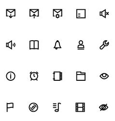 Apple Watch Icons 5 vector