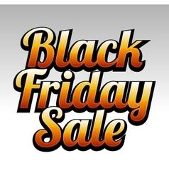 Black Friday Sale Background Design Element vector image