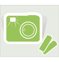 camera design vector image