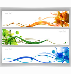 colorful flower vector image