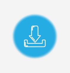 download icon sign symbol vector image
