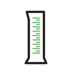 Measuring Cylinder vector image