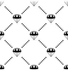 Parachute Seamless Pattern vector image