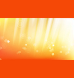 sunlight background sky sun yellow vector image