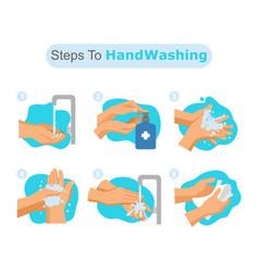 Washing-hand vector