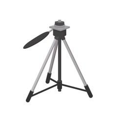 Tripod icon cartoon style vector image