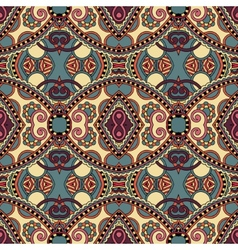 geometry vintage floral seamless pattern vector image vector image