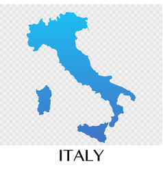 italy map in europe continent design vector image