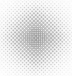 Abstract black white octagon pattern design vector
