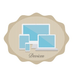 Devices4 vector image