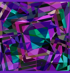 geometric polygonal background design vector image