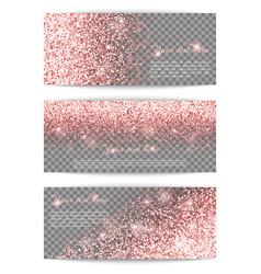 luminous pink background vector image