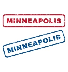 Minneapolis Rubber Stamps vector