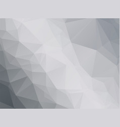 modern black white gray triangular background vector image