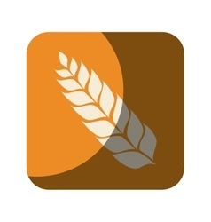 Wreath leaf beer icon vector