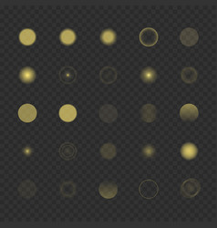 bokeh light effect vector image