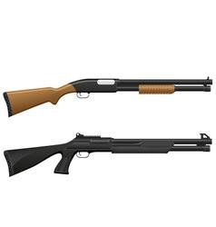 shotgun 06 vector image