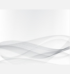 abstract grey backgroundwavy lines and gray vector image