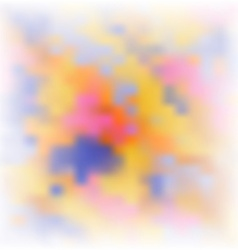 Abstract soft colorful background vector