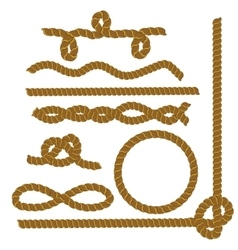 Collection of Rope vector