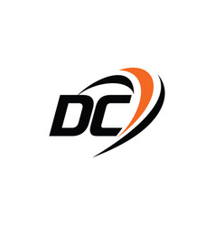 Dc monogram logo vector