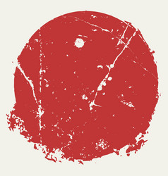 distressed red stamp14 vector image
