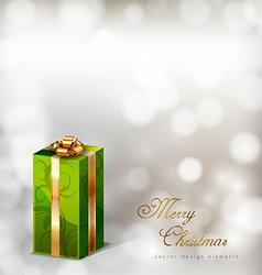 Green Gifts vector image