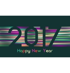 Happy New Year 2017 background Calendar template vector